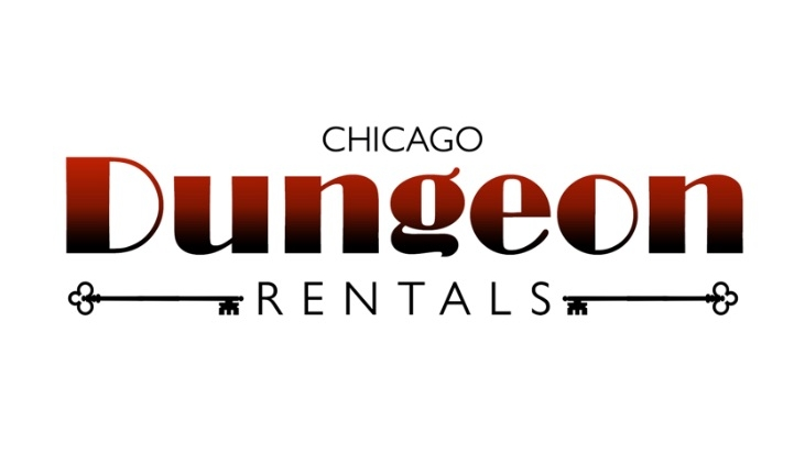 Chicago Dungeon Rental's Logo in red and black